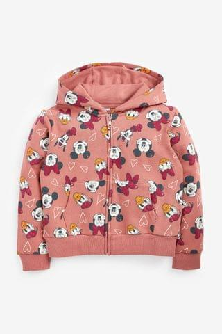 KIDS Rust Licence Mickey Mouse Zip Through Hoody (3-16yrs)