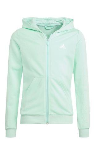 KIDS adidas Linear Zip Through Hoodie