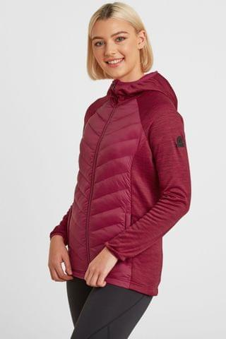WOMEN Tog 24 Red Womens Adwell Insulated Hybrid Jacket