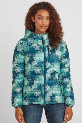 WOMEN Tog 24 Womens White Drax Down Fill Hooded Jacket