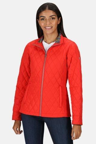 WOMEN Regatta Red Charna Quilted Jacket