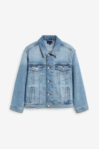 KIDS GANT Teen Boys Crest Denim Jacket