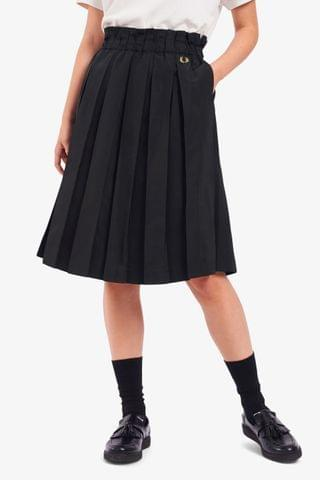 WOMEN Fred Perry Pleated Skirt