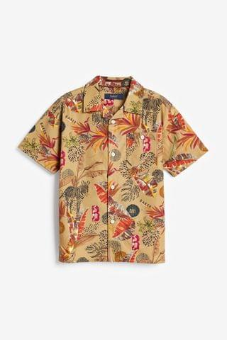 KIDS Baker by Ted Baker Safari Print Shirt