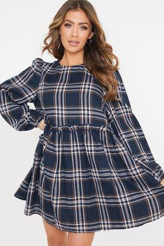 WOMEN In The Style Jac Jossa Check Smock Dress