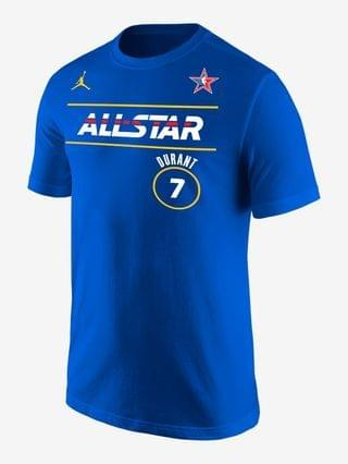 MEN Jordan NBA Player T-Shirt Kevin Durant All-Star