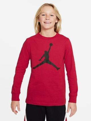 KIDS Big Kids' (Boys') Long-Sleeve T-Shirt Jordan
