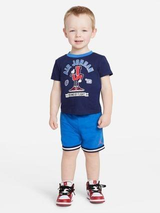 KIDS (12-24M) T-Shirt and Shorts Set Jordan