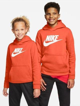 KIDS Big Kids Pullover Hoodie Nike Sportswear Club Fleece