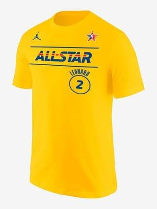 MEN Jordan NBA Player T-Shirt Kawhi Leonard All-Star