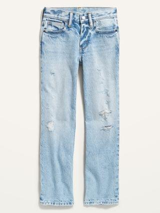 KIDS Gender-Neutral Non-Stretch Ollie Loose-Fit Jeans for Kids