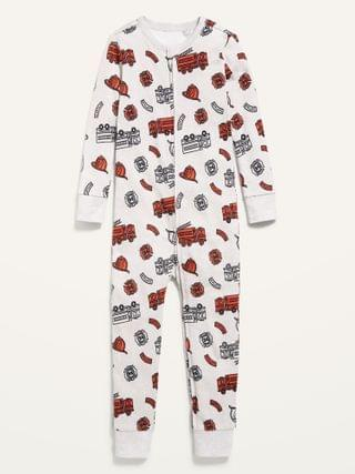 KIDS Unisex Printed Pajama One-Piece for Toddler & Baby
