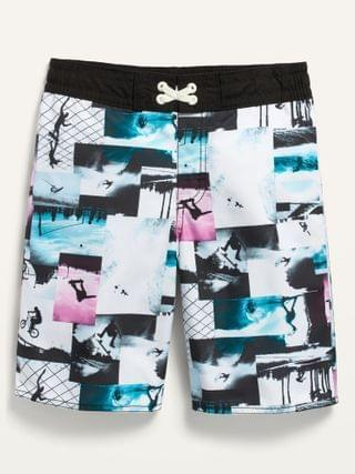 KIDS Printed Board Shorts for Boys