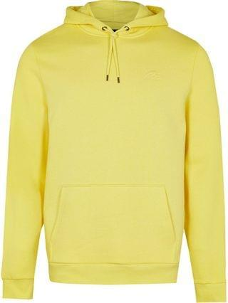 MEN Yellow RI slim fit hoodie