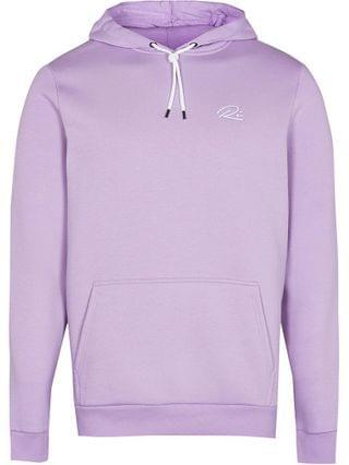 MEN Purple RI slim fit hoodie