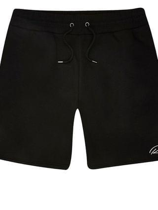 MEN Big & Tall black slim fit RI shorts