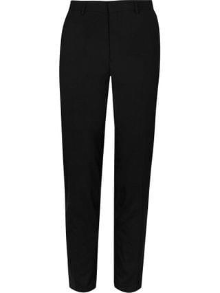 MEN Black skinny fit trousers