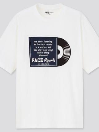 WOMEN the brands world of record stores ut (short-sleeve graphic t-shirt)