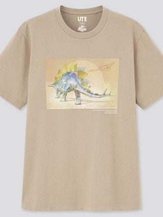 WOMEN jurassic world x hajime sorayama ut (short-sleeve graphic t-shirt)