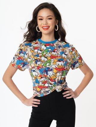 WOMEN Cakeworthy DuckTales All Over Print Unisex Tee