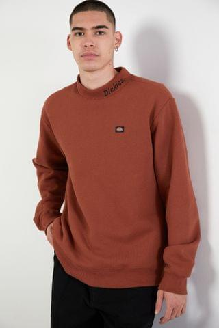 MEN Dickies UO Exclusive Mock Neck Sweatshirt