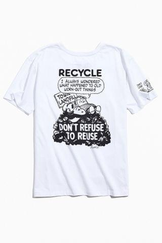 MEN Re.Purpose UO Exclusive Peanuts Recycle Tee