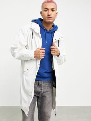 waterproof parka jacket in white