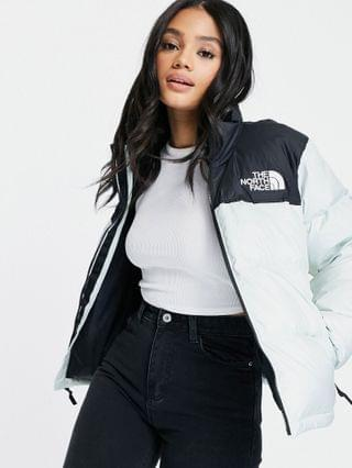 WOMEN The North Face 1996 Retro Nuptse jacket in mint