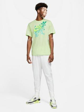 Nike beach party futura graphic t-shirt in lime