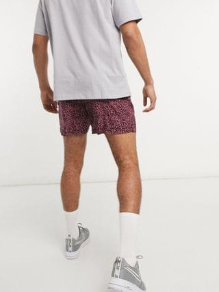 New Look shorts with animal print in pink - part of a set