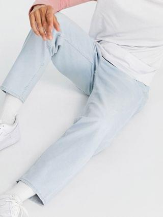 New Look original fit jeans in light wash blue