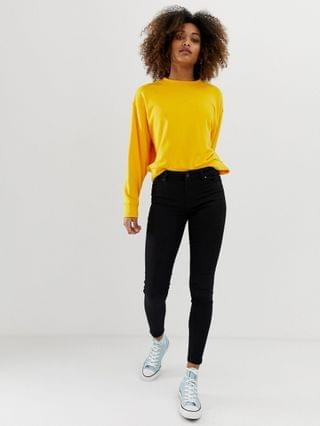 WOMEN New Look india jeans with super skinny fit in black