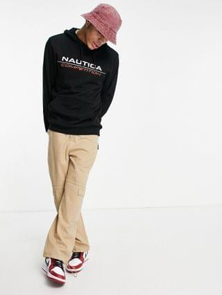 Nautica Competition convoy logo hoodie in black