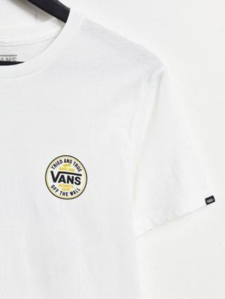 Vans Tried and True t-shirt in white