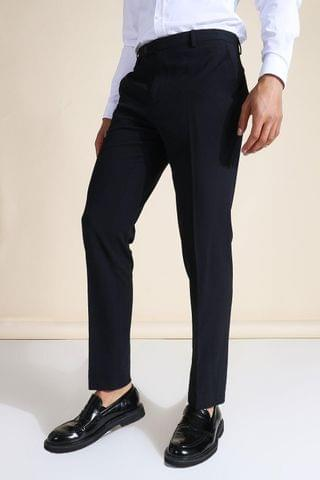 MEN Slim Navy Suit Trousers