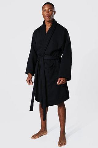 MEN Signature Heavy Jersey Dressing Gown