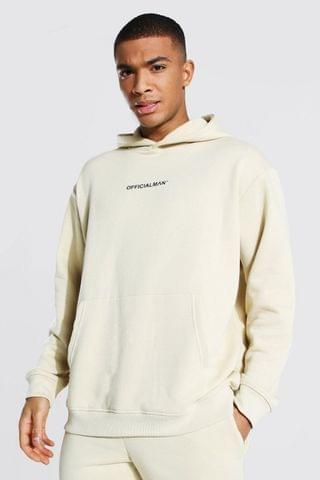 MEN Official Man Oversized Over The Head Hoodie