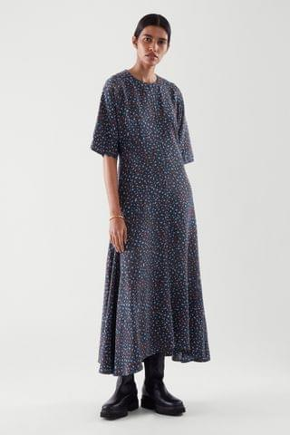 WOMEN LONG A-LINE DRESS