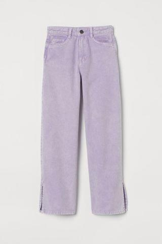 KIDS Wide High Twill Pants