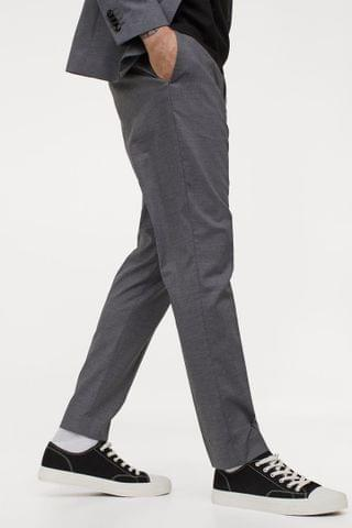 MEN Skinny Fit Suit Pants