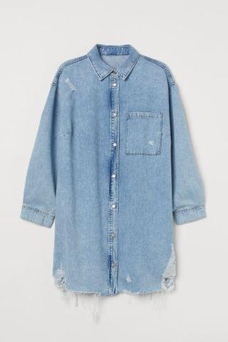 WOMEN H&M+ Denim Dress