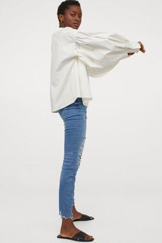 WOMEN Embrace High Ankle Jeans