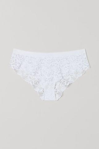 WOMEN Lace Hipster Briefs