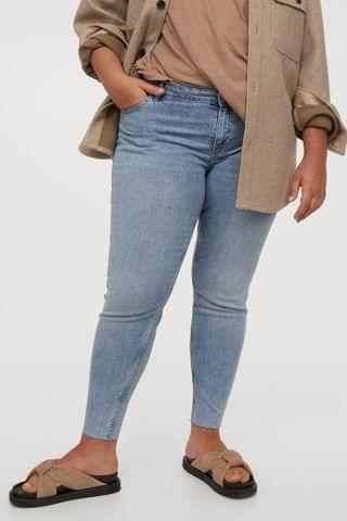 WOMEN H&M+ Skinny Regular Jeans