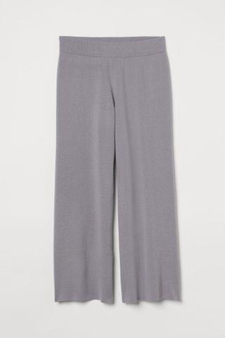 WOMEN H&M+ Wide-leg Pants