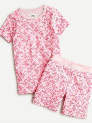 KIDS Girls' printed short-sleeve pajama set