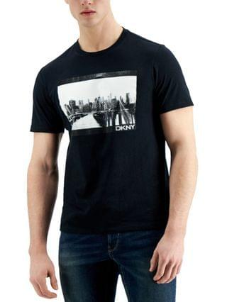 MEN New York Docks Logo Graphic T-Shirt