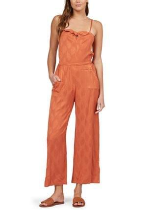 WOMEN Juniors' Feel The Retro Spirit Jumpsuit