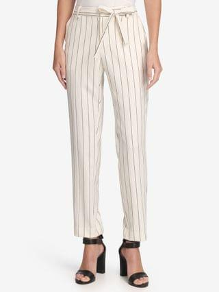 WOMEN Essex Pinstriped Ankle Pants