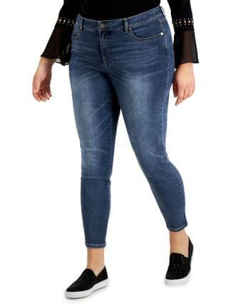 WOMEN INC Plus Size Essex Super Skinny Jeans Created for Macy's